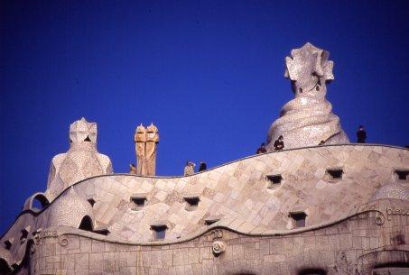 Terrazza tetto Pedrera