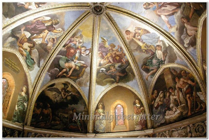 affreschi guercino cupola
