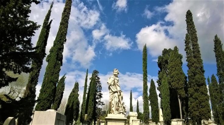 allegoria della morte cimitero protestante firenze