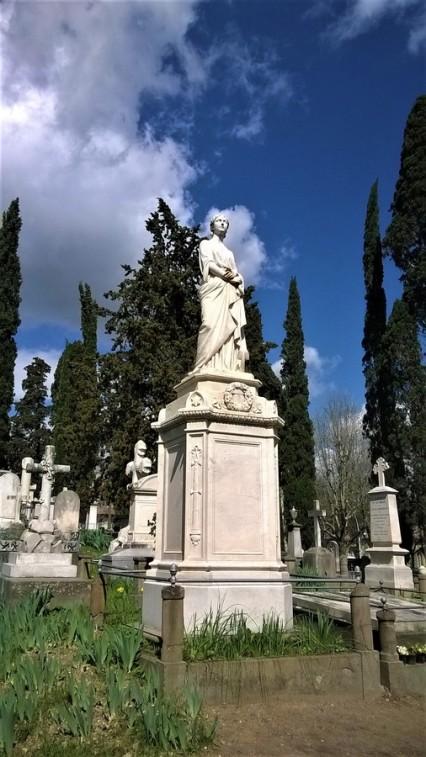 allegoria della speranza cimitero inglesi firenze