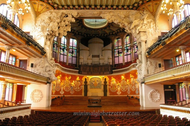 barcellona palazzo della musica catalana