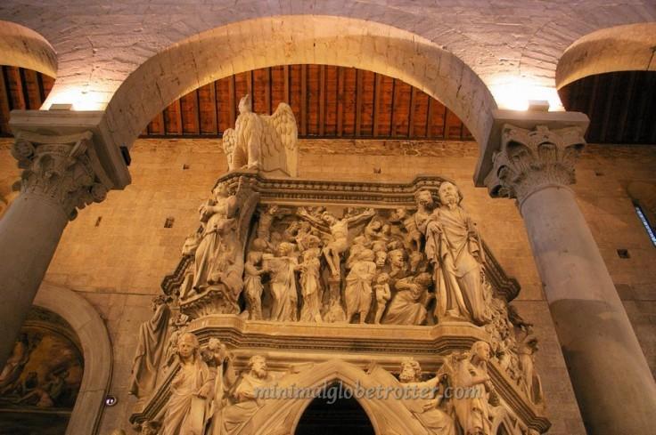 Pistoia pulpito S. Andrea di Giovanni Pisano(1)