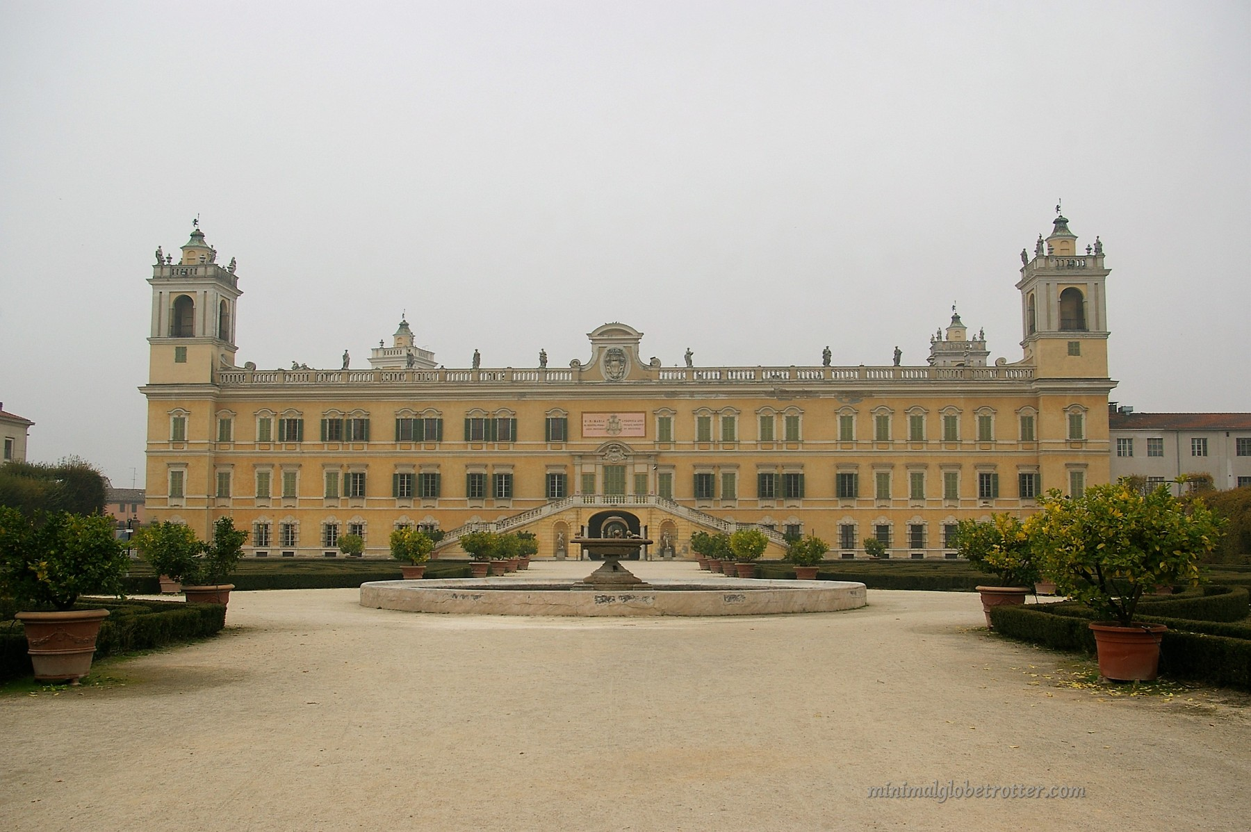 Castelli di Parma e Piacenza Reggia di Colorno veduta