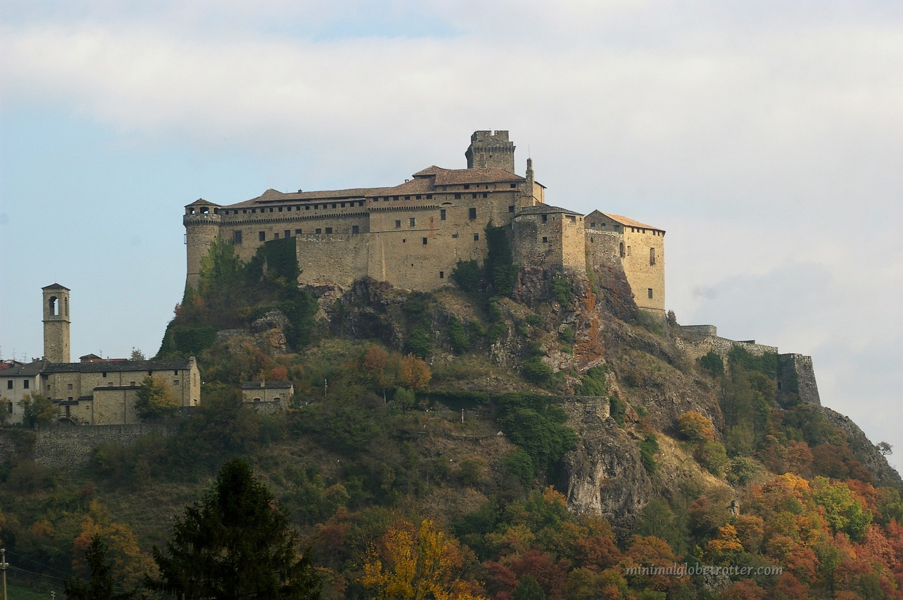 castelli di parma e piacenzafortezza di bardi