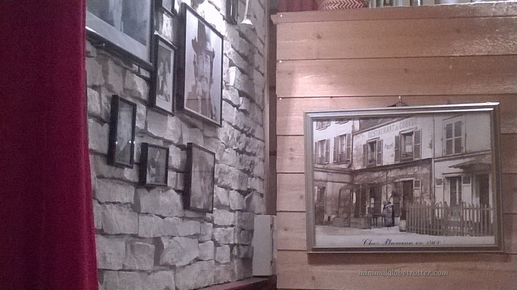 interno ristorante a montmartre