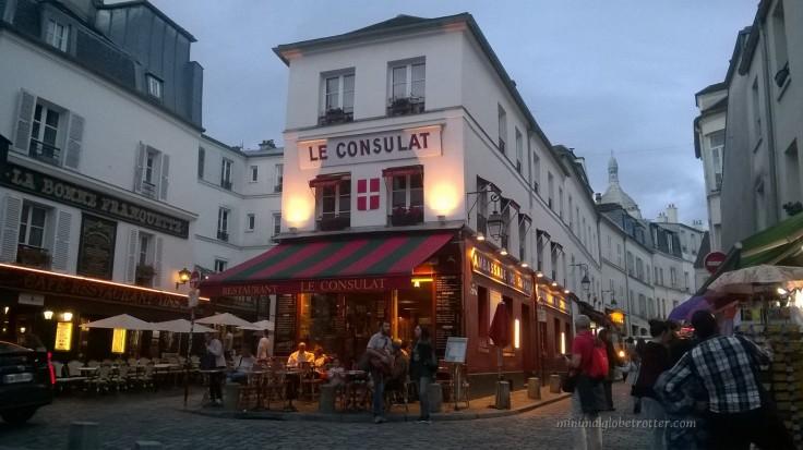Le Consulat a montmartre