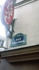 parigi rue ravignan 1