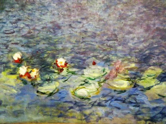 Particolare delle Ninfee di Claude Monet