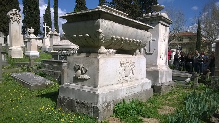 crisalide cimitero degli inglesi