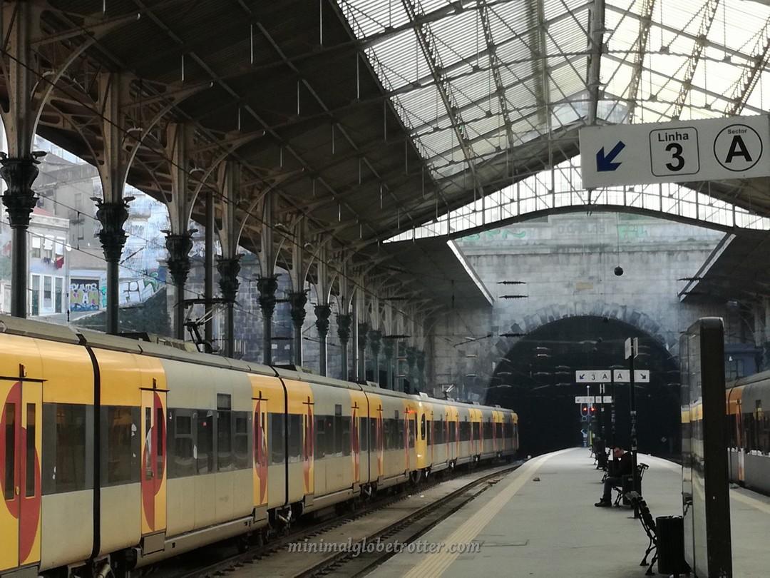 Binari stazione di Sao Bento