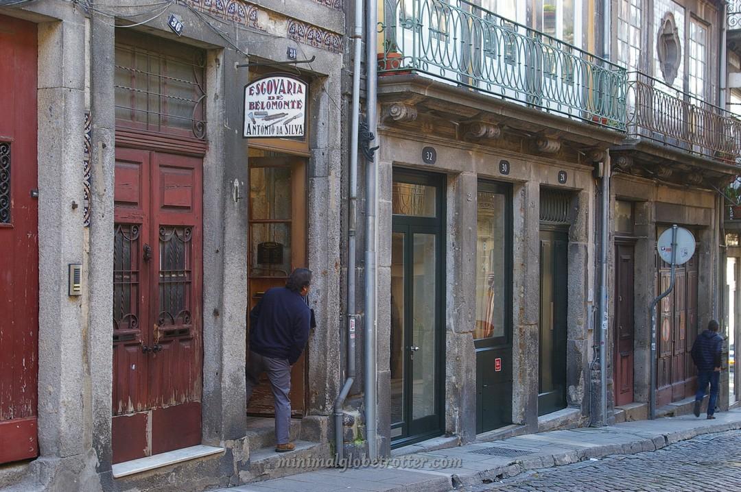 La via del quartiere Ribeira che ha ispirato Diagon Alley in Herry Potter