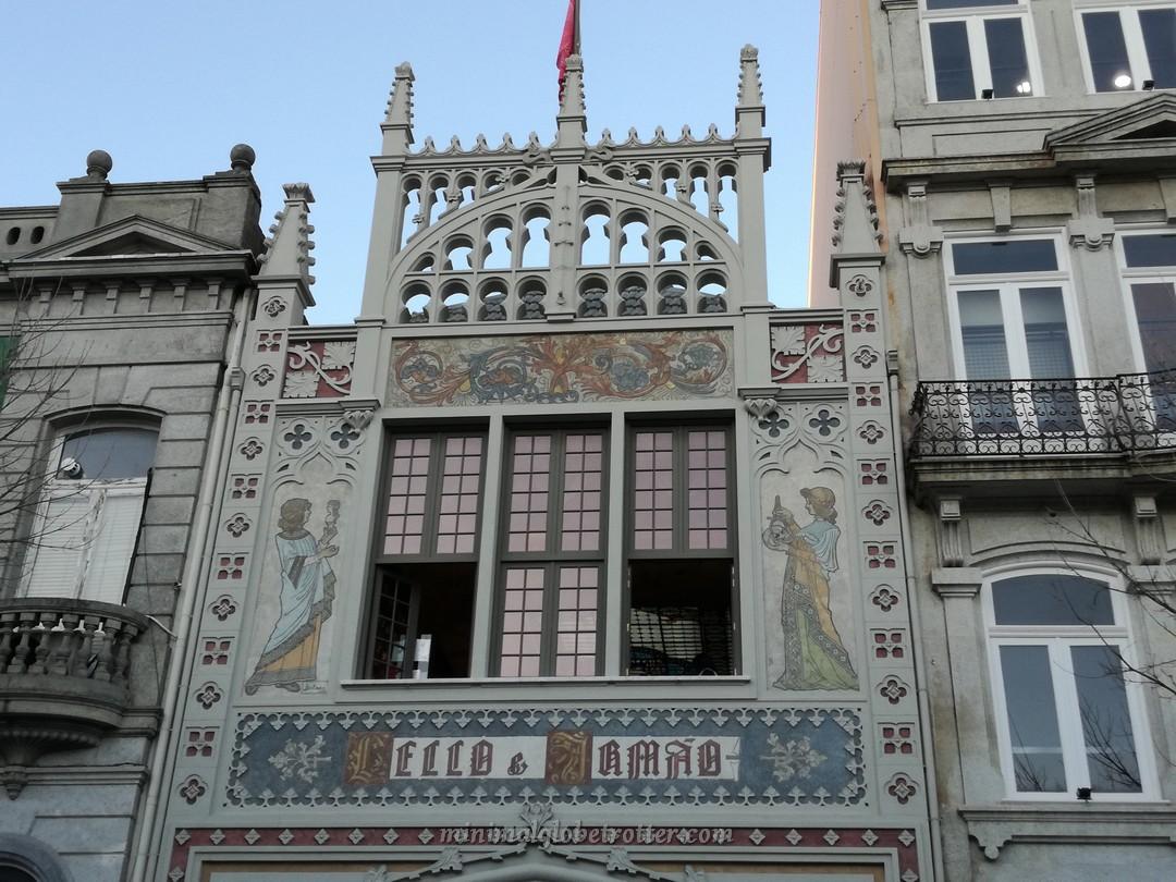 Libreria Lello e Irmao a Porto, la libreia di Harry Potter
