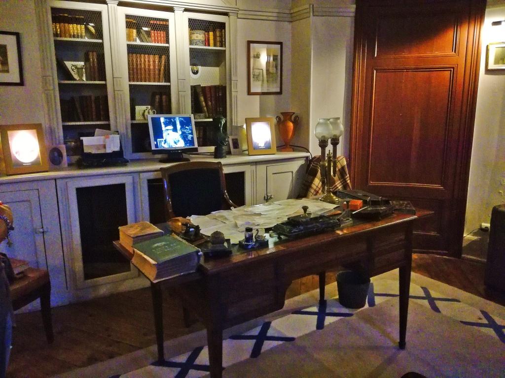 Lo studio di Maurce Leblanc a Étretat