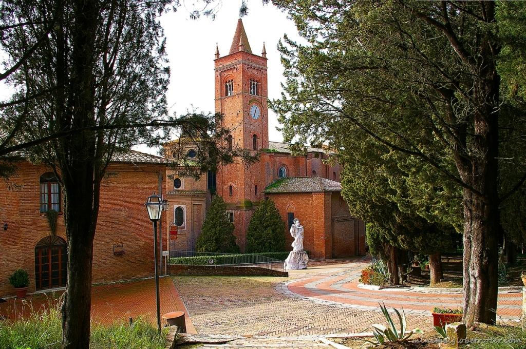 Abbazia di Monte Oliveto Maggiore Siena