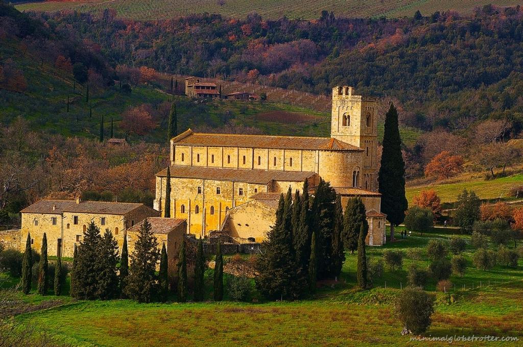 Sant'Antimo chiesa abbaziale